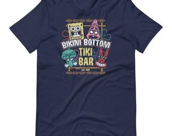 Bikini Bottom Tiki Bar t-shirt