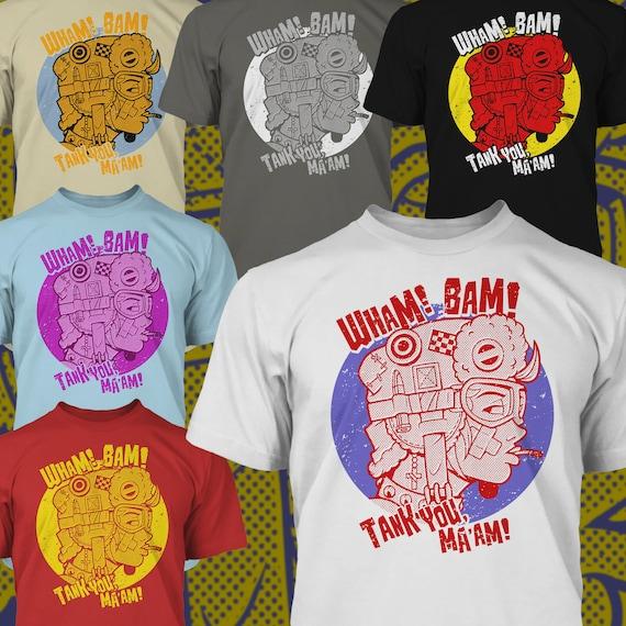 Wham Bam Tank You Maam Premium T Shirt Etsy