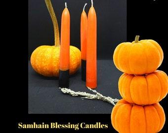 Samhain Blessing Candles