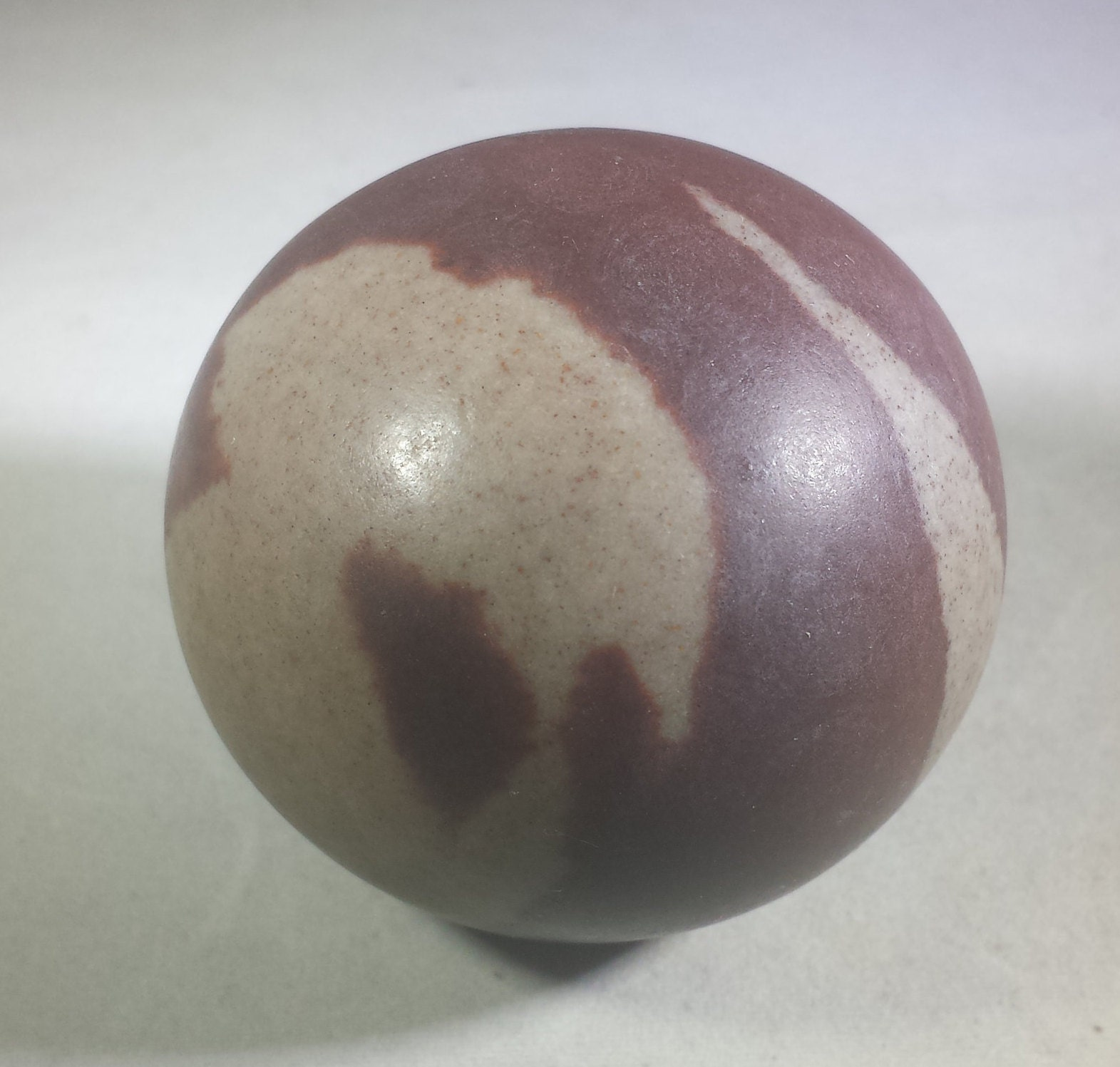 LARGE NARMADA STONE Sphere Natural Stone Hand Carved ...