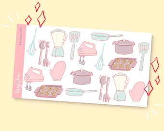 In the Kitchen 002 | Planner Stickers