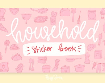 Household Sticker Book