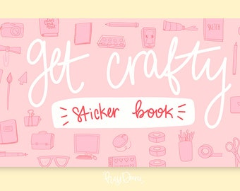 Get Crafty Sticker Book