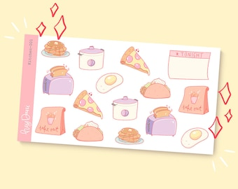 In the Kitchen 001 | Planner Stickers