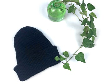 0e9bb7b4b Ribbed knit watchcap   Etsy