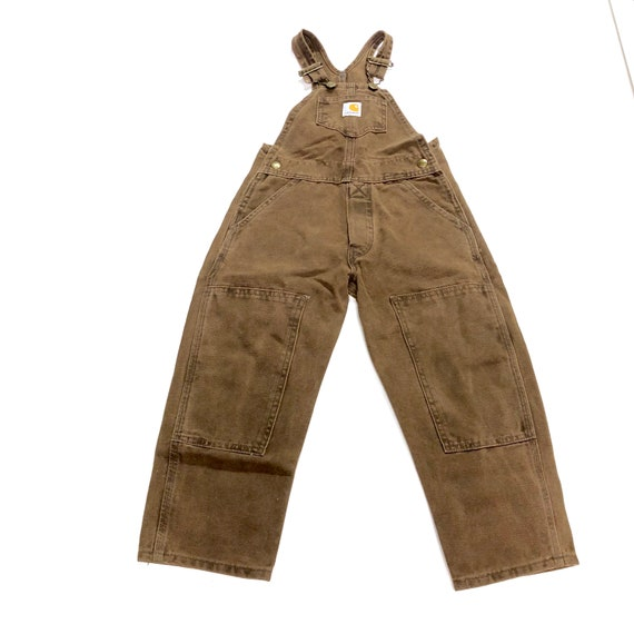Vtg Carhartt overalls, Deadstock Vintage chocolate