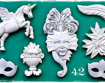 Carnival Elements 42 ...Silicone mould