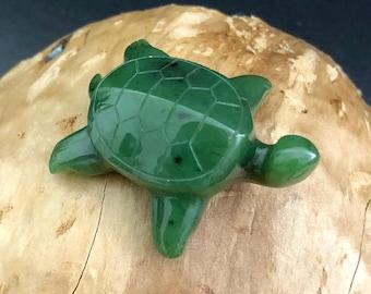 Canadian Jade Turtle - Multiple Sizes - Jade Figurine - Turtles