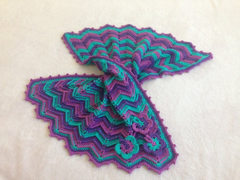 Crochet Pattern Baby Blanket Tutorial Crochet Baby Blanket Etsy