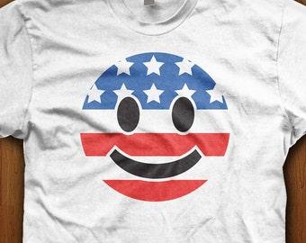 Patriotic emoji | Etsy