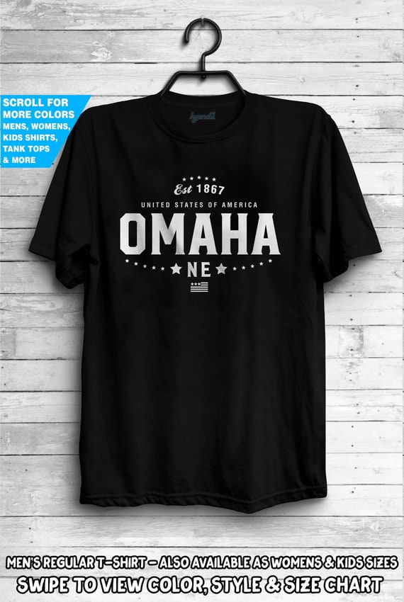 Traditional Nebraska US State Pride Tourist Short Sleeve T-Shirt Tees Tshirts