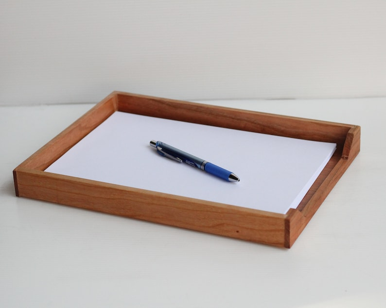 Wood A4/Letter Paper Tray image 0
