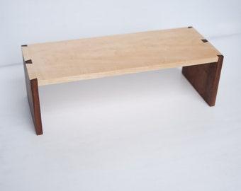 mini wood shelf - dovetailed jointed