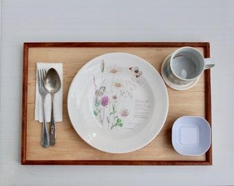Vintage-style Food/Breakfast Tray