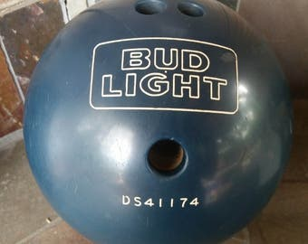 Charming Anheuser Busch Bud Light Blue Bowling Ball Pictures Gallery