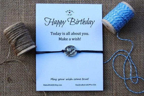 Birthday Gift Horse Bracelet Happy Card Friendship