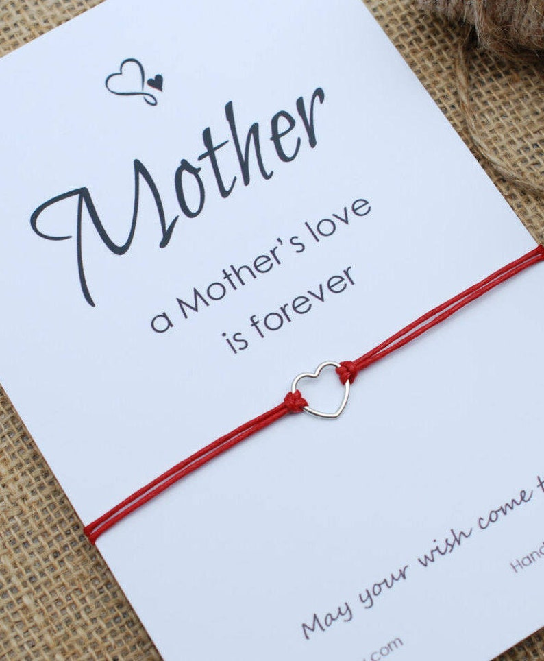 a1d409d9c Mothers Day Gift For Mom Gift Friendship Bracelet Mother   Etsy