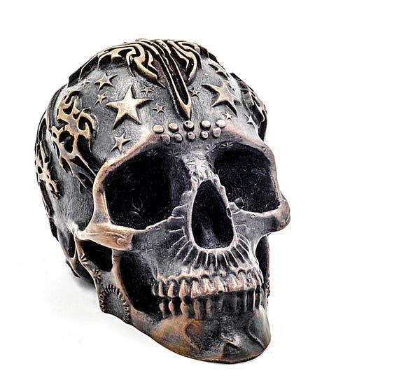 Menschliche Schädel Kunst Skull Gothic Halloween | Etsy