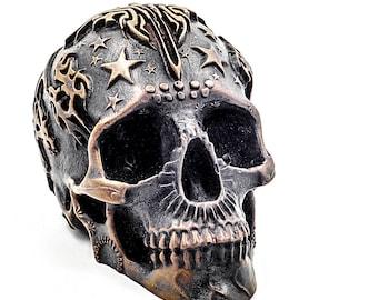 Skull Sculpture, Skull Decor, Skull Decoration, skulls, Day Of The Dead, Dia De Los Muertos, Skull Gift, Skull Gifts, Sugar Skull Gift