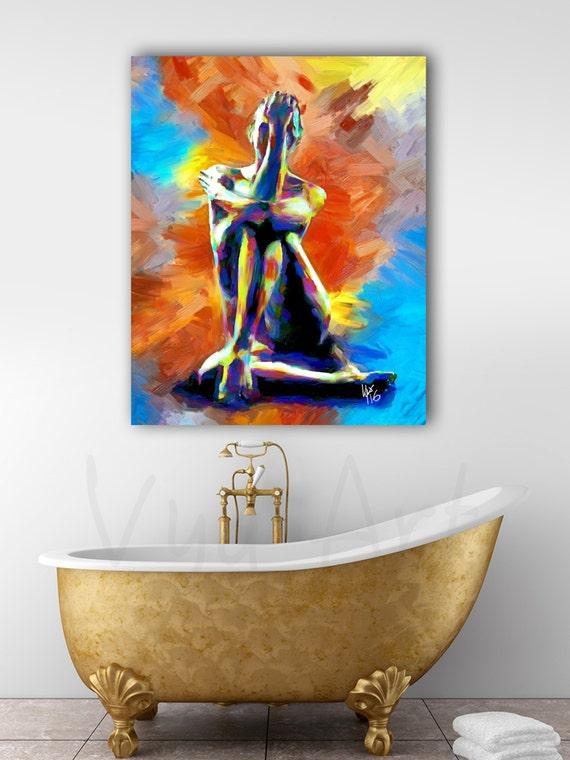 Sensual artwork for the bedroom sensual art nude woman etsy - Sensual paintings for the bedroom ...