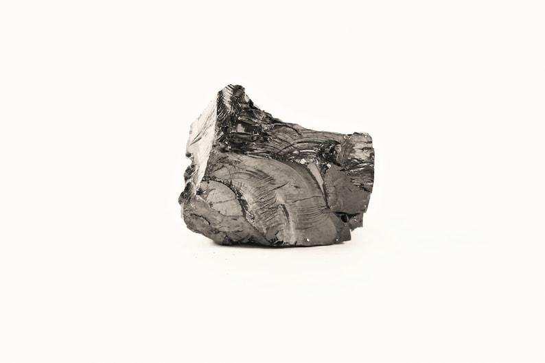 Elite Shungite Stone 1 Piece 70-100 grams 0,15-0,2 lbs // EMF Protection  Crystal // Chakra Healing Noble Shungit Karelian Heritage ES141
