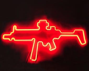 Neon Sign AK-47 Kalashnikov