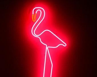 Neon Sign FLAMINGO