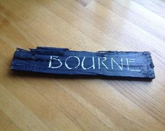 Bourne Sign