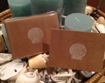 Shell Notecards, Set of Six