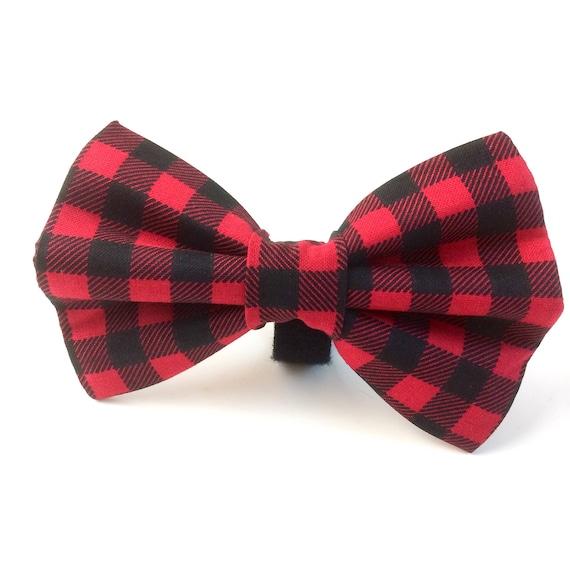 Dog Bow Tie Christmas Cookie Medium