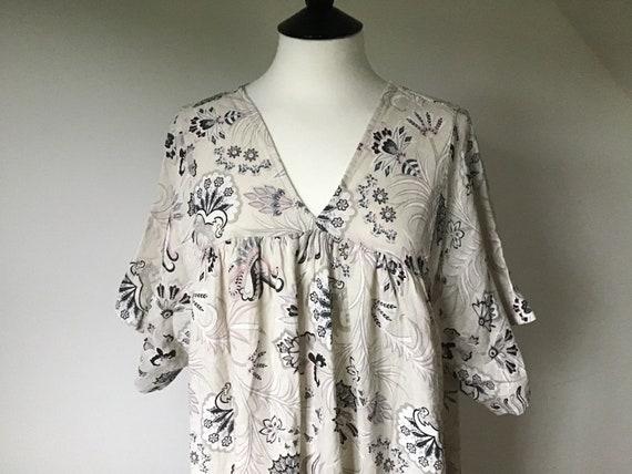 Ladies Linen Dress For Sale ! Beige,Pink,Blue Flor