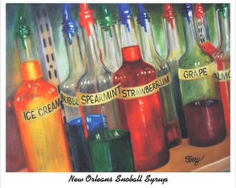 New Orleans Snoball Syrup
