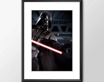 Darth Vader - Star wars inspired Print - BUY 2 Get 1 FREE