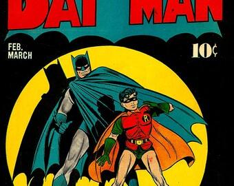 Classic Batman - Classic Comic Art Cover