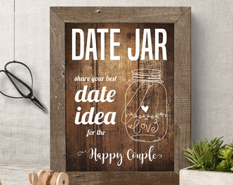 Meet the bridesmaids sign printable rustic signs meet the etsy date jar idea sign and cards printable rustic bridal shower wood texture games and activities g604 m4hsunfo