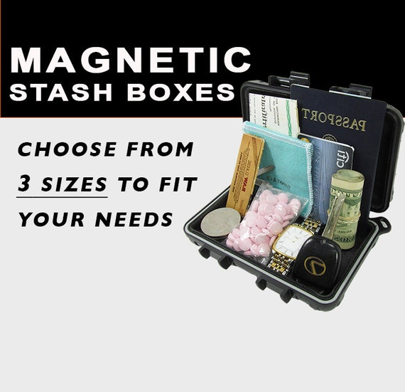 Magnetic Stash Box Money Safe Truck Car Bike Caravan