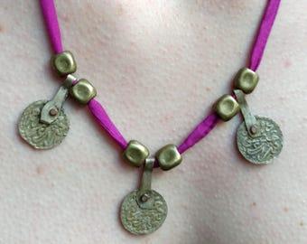 Berber Antique Coin's Boho Necklace