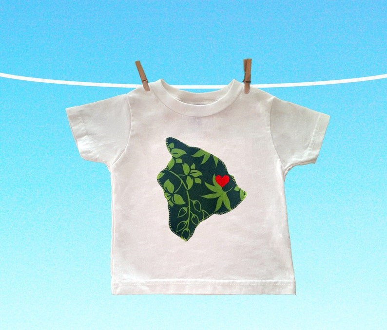 Customizable Hilo Love Toddler Tee image 0