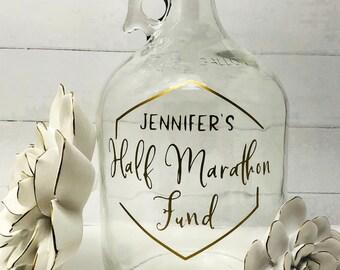 Gift For Runner Half Marathon Jar 5k 10k Runners 131 262