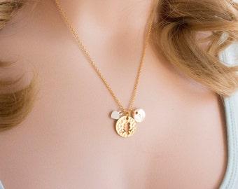Gold bird necklace, gold bird jewellery, bird jewelry, bird, gift for bird, mothers day, Best Friends, sisters necklace, GBIIN0217