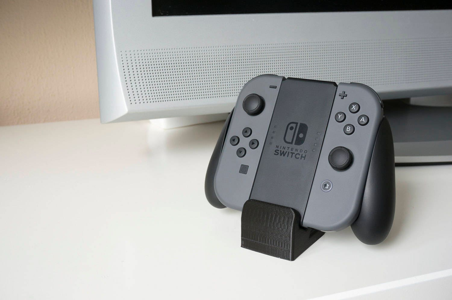 Nintendo Switch joy-con controller grip stand dock 3d printed multiple  colors available