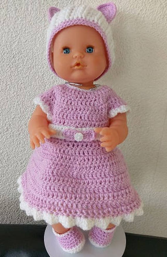 Baby Born Violet Jurk Haakpatroon Nl Etsy
