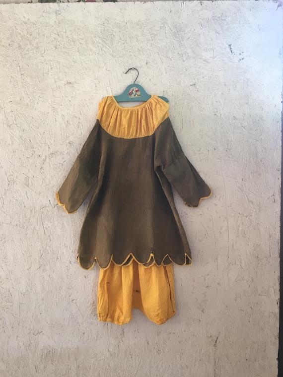 Vintage RARE 30s 40s Kids Costume Renaissance Jest
