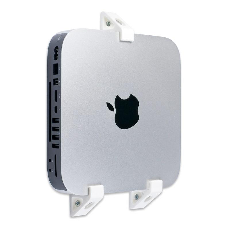 A1347 White Present Wall Mount Holder Wall Bracket for Mac Mini 2010 A1993