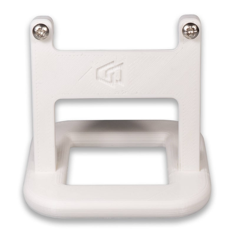 Stand for Hive Thermostat v2 with Mounting Screws White Sloped P3D-lab