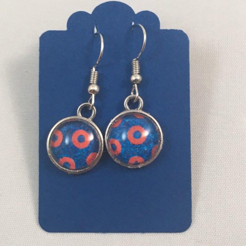 Phish Fishman Donut Earrings Jewelry earrings only