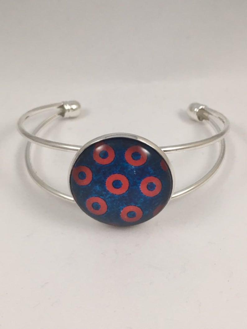 Phish Donut Bracelet Cuff Jewelry bracelet only