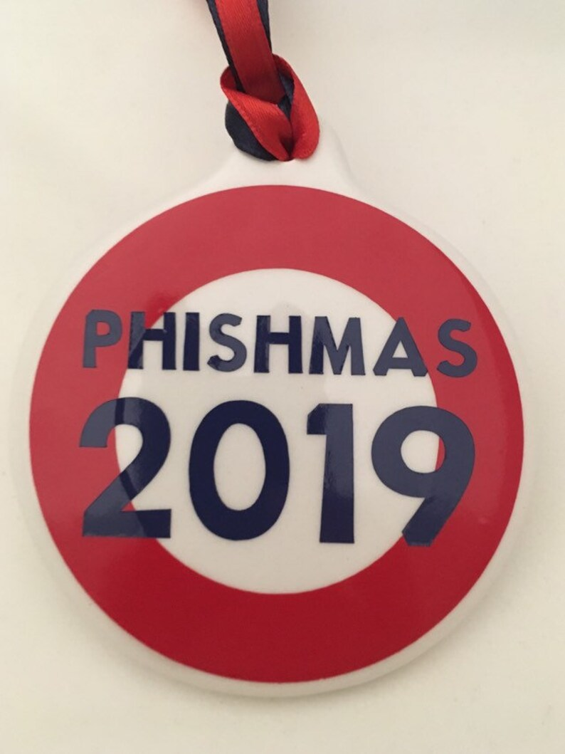 Phish Christmas Ornament image 0