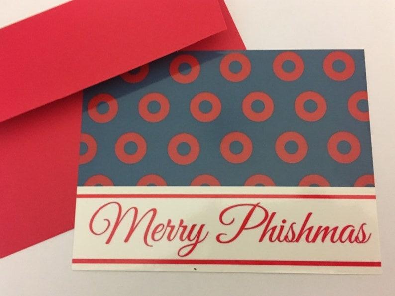 Phish Christmas Postcard Card with Envelope image 0