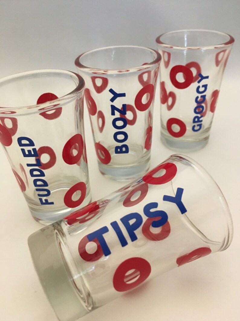 Phish Shot Glass Set of 4 image 0